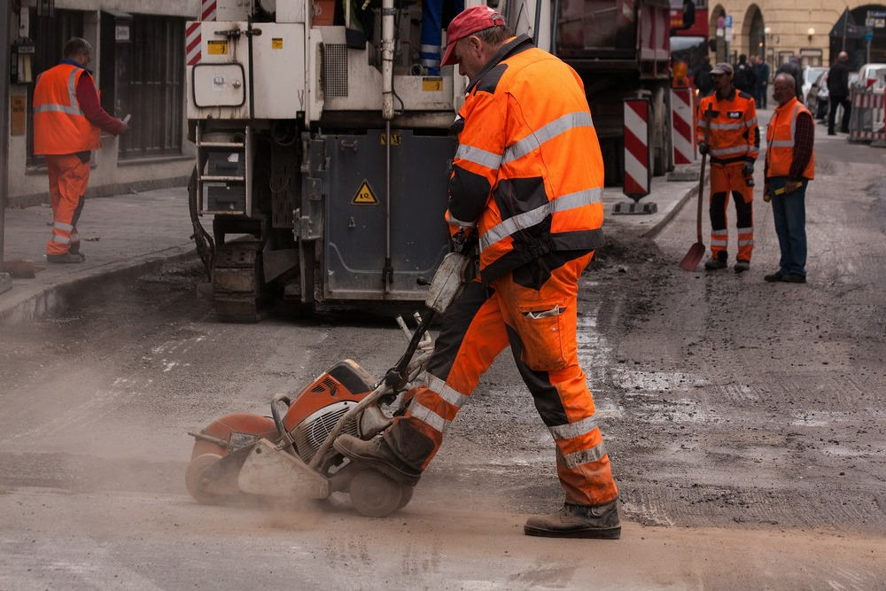 Straßenbau Personalvermittelung Ausland